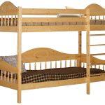 двухярусная кровать из сосны