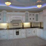 классический интерьер для кухни любой площади