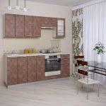 кухонные шкафы кофейный цвет