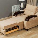 кресло кровать разложенное