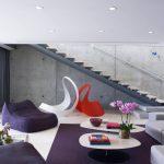 кресло мешок фиолетовое