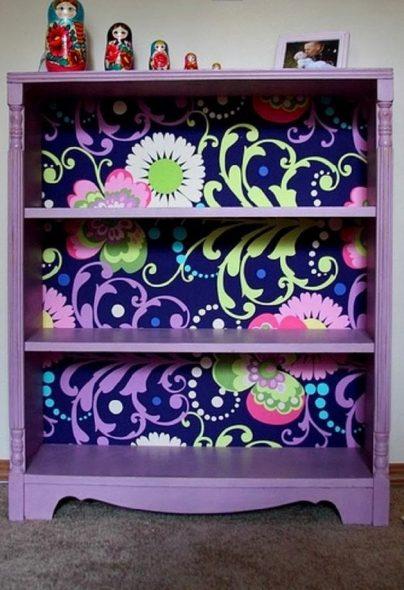мебель и предметы интерьера в цветах