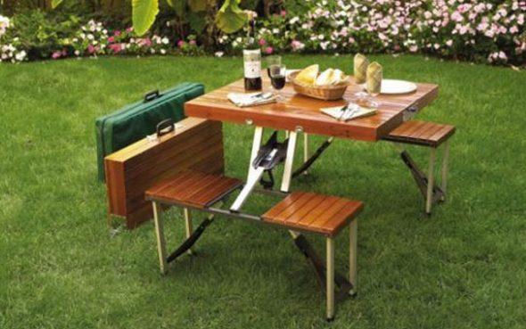 наборы стол и стулья для пикника