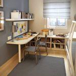 небольшая комната для школьника