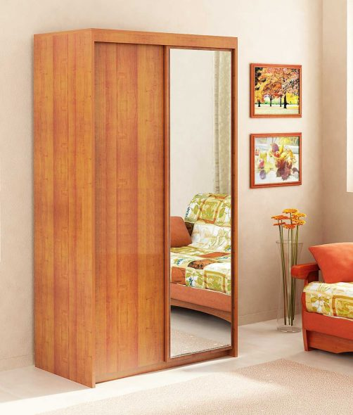 прикрепить зеркало к мебели