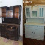 реставрация мебели-буфета