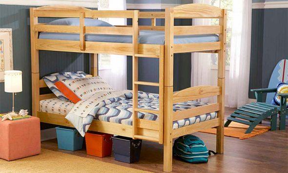 сделать детскую двухъярусную кровать