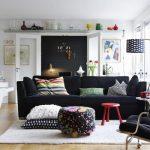 скандинавский стиль оформления комнаты
