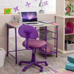 стул для школьника фиолетовый