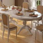 стулья светлые в гостиной