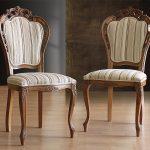 стулья резные