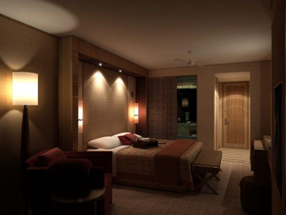 существуют примечательные варианты источника света на стене