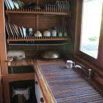 сушилка для посуды из дерева