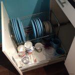 сушилка для посуды в выдвижной шкаф