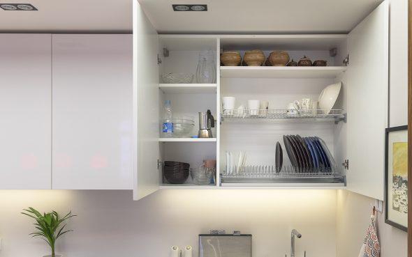 сушилка в шкафу