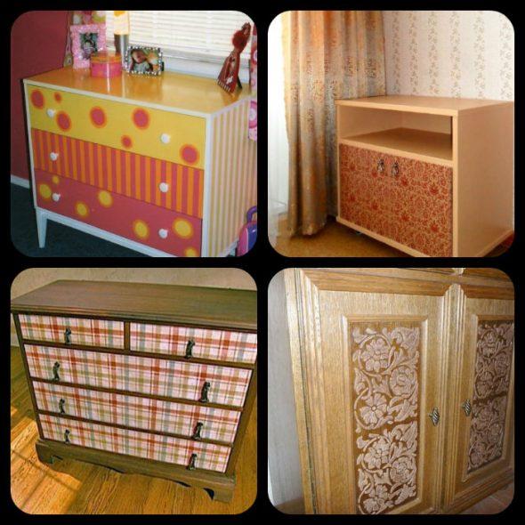вариант обновления мебели