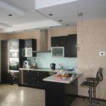 варианты планировки в процессе создания интерьера кухни