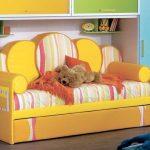 выбрать диван для детской комнаты