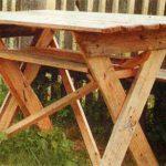 Дачный столик своими руками