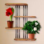 Деревянные подставки для цветов