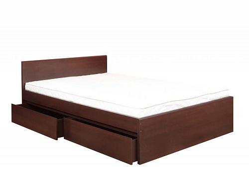Двуспальная кровать с ящиками Пелло