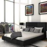 Комфортное исполнение изголовья кровати