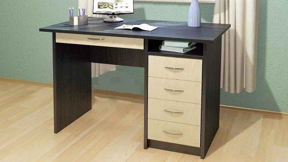 Конструкции письменных столов