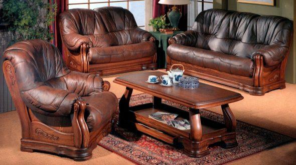 Кожаная мебель цена