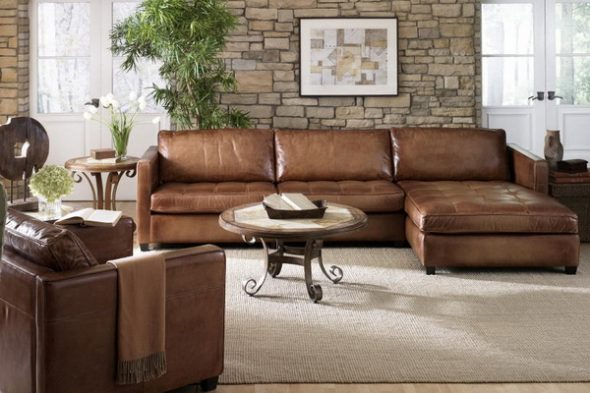 Кожаная мебель для дома