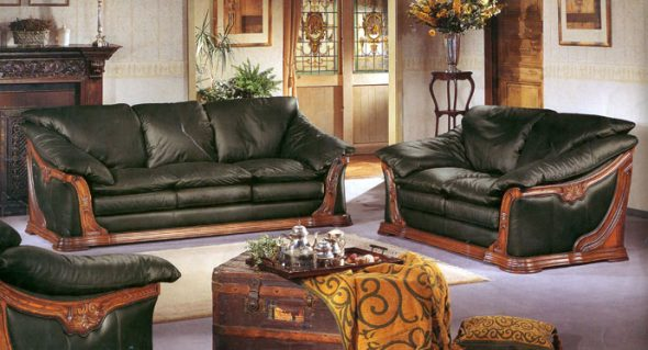 Кожаная мягкая мебель Firenze