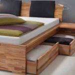 Кровать для спальни с ящиком для белья Ettimo 2