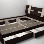 Кровать двуспальная 160 х 200 (2 ящика)