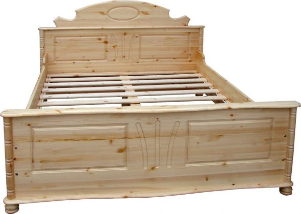 Кровать двуспальная Айно