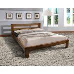 Кровать двуспальная деревянная СТАР из массива дерева
