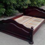 Кровать двуспальная из массива дерева ФИЛЛ