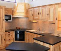 Кухонный гарнитур своими руками из мебельных щитов фото