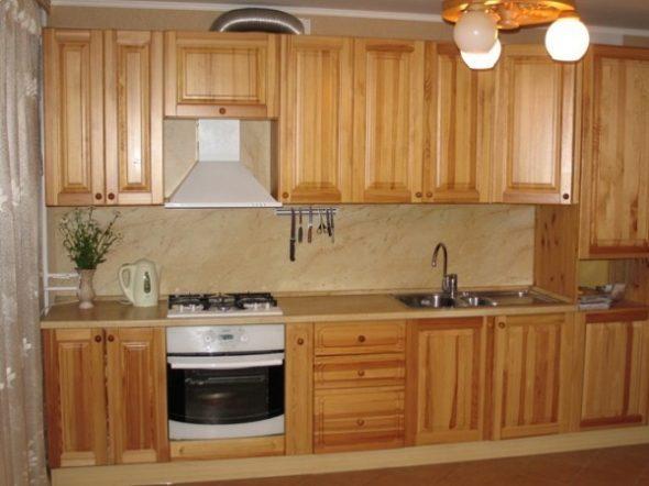 Мебельные фасады будут хорошо смотреться на любой кухне
