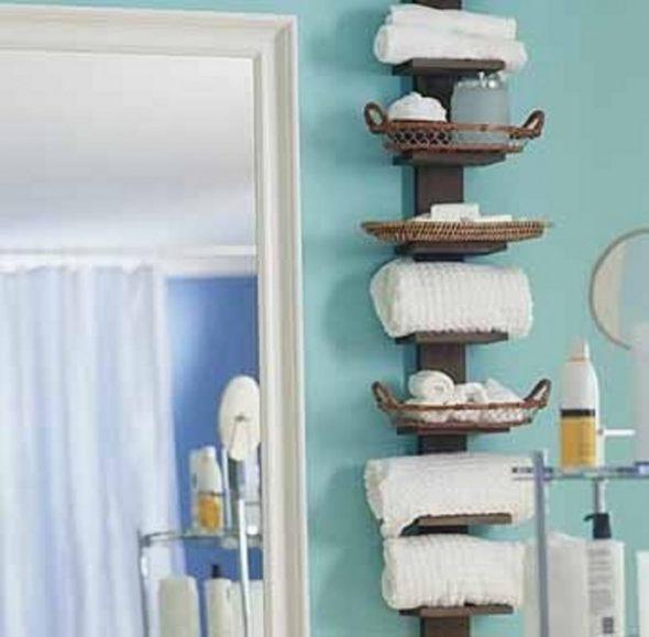 Полка для ванной комнаты своими руками