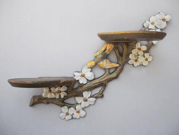 Полки для цветов-сделать