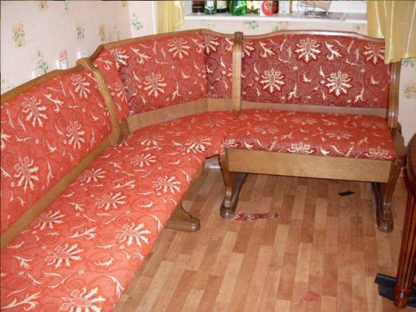 Ремонт кухонного уголка