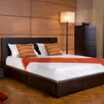 Современный дизайн кровати в спальню