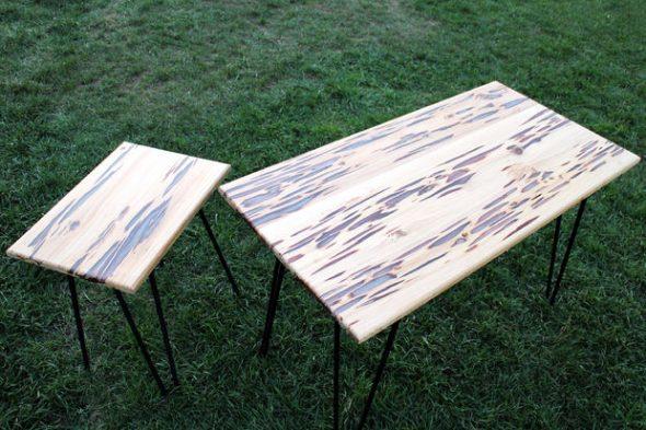Светящийся стол готов к использованию