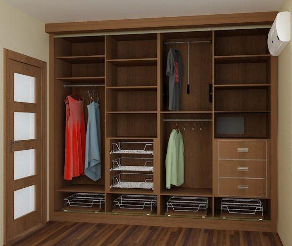 Удобный, вместительный шкаф-купе