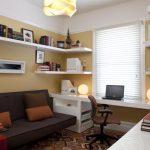 Виды настенных полок для комнаты