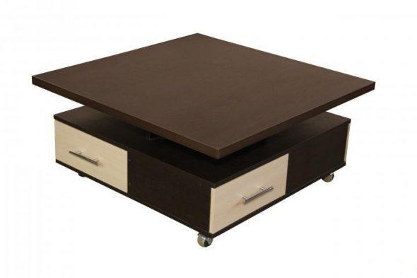 Журнальный стол-трансформер Ника 7