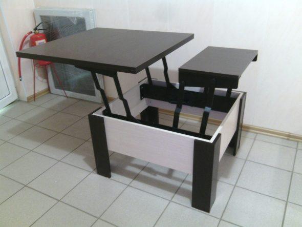 Журнальный стол-трансформер-вариант