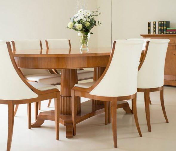 деревянный стол дизайн