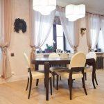 деревянный стол столовая