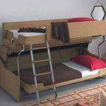 диван двухъярусная кровать трансформер дизайн
