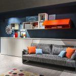 диван двухъярусная кровать трансформер идеи дизайна